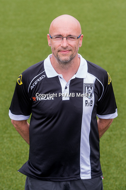 Richard van Beek of Heracles Almelo during the team photocall of Heracles on July 20, 2015 at the Polman stadium in Almelo, The Netherlands.