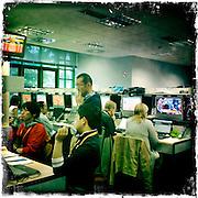 Roland Garros. Paris, France. May 31st 2012.TV press room.