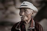 FARMER, CENTRAL MONGOLIA