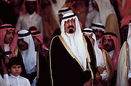 King Abdullah bin Abdul-Aziz Al Saud, Custodian of the Two Holy Mosques, King of Saudi Arabia. King Abdullah cherishes the desert and has high regard for Bedouin traditions.