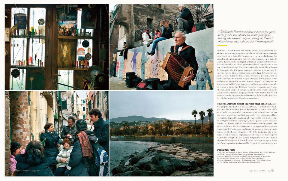 Touring magazine © Zoe Vincenti 2012