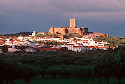 PORTUGAL, ALENTEJO AREA Portel, medieval town and 13thC castle