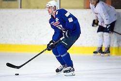 Jan Mursak at first practice of Slovenian National Ice Hockey team before EIHC tournament in Innsbruck, on November 4, 2013 in Ledena dvorana Bled, Bled, Slovenia. (Photo by Matic Klansek Velej / Sportida.com)