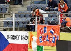 08-03-2015 CZE: European Athletics Indoor Championships, Prague<br /> Support publiek voor Eelco Sintnicolaas