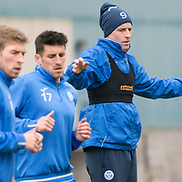 St Johnstone Training 14.04.17