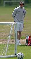 Photo: Paul Thomas.<br /> England Training Session. 01/06/2006.<br /> <br /> Wayne Rooney at training today.