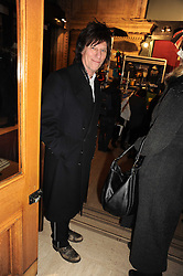 JEFF BECK at the gala opening night of Cirque du Soleil's Varekai at the Royal Albert Hall, London on 5th January 2010.