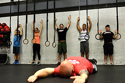 Work out session of Phoenix Multisports at Fearless Athletics, in South Philadelphia, on October 8, 2016. (Bastiaan Slabbers / for phillyvoice)