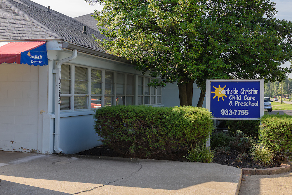 Southside Christian Child Care Day Care Center at10315 Deering Road in Valley Station. (Photo by Brian Bohannon)
