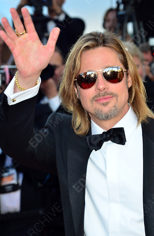 22.MAY.2012. CANNES<br /> <br /> THE 'KILLING THEM SOFTLY' PREMIERE DURING 65TH ANNUAL CANNES FILM FESTIVAL AT PALAIS DES FESTIVALS ON MAY 22, 2012 IN CANNES, FRANCE.  <br /> <br /> BYLINE: EDBIMAGEARCHIVE.CO.UK<br /> <br /> *THIS IMAGE IS STRICTLY FOR UK NEWSPAPERS AND MAGAZINES ONLY*<br /> *FOR WORLD WIDE SALES AND WEB USE PLEASE CONTACT EDBIMAGEARCHIVE - 0208 954 5968*