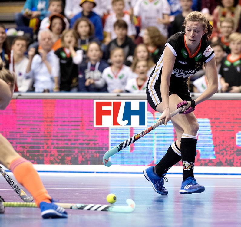 BERLIN - Indoor Hockey World Cup<br /> Final: Netherlands - Germany<br /> Germany wins the world championship.<br /> foto: Franzisca Hauke.<br /> WORLDSPORTPICS COPYRIGHT FRANK UIJLENBROEK