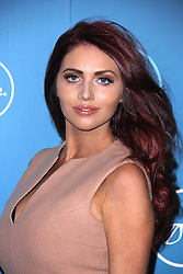 © Licensed to London News Pictures. 07/10/2014, UK. Amy Childs, ITVBe - Launch Party, ITV Studios Southbank, London UK, 07 October 2014. Photo credit : Brett D. Cove/Piqtured/LNP
