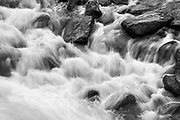 Detail of Wolf Creek Rapids on Idaho's Selway River.