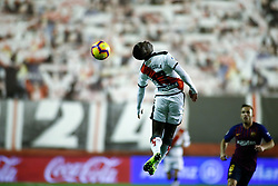 November 3, 2018 - Madrid, MADRID, SPAIN - Advincula of Rayo during the Spanish Championship, La Liga, football match between Rayo Vallecano and FC Barcelona on November 03th, 2018 at Estadio de Vallecas in Madrid, Spain. (Credit Image: © AFP7 via ZUMA Wire)