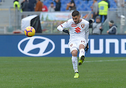 January 19, 2019 - Rome, Italy - Iago Falque during the Italian Serie A football match between A.S. Roma and F.C. Torino at the Olympic Stadium in Rome, on january 19, 2019. (Credit Image: © Silvia Lore/NurPhoto via ZUMA Press)