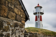 Bordan lighthouse, Scansin guns, Guns_Torshavn Faroe Islands 7_12_09