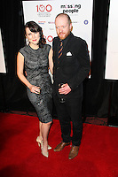 Alice Lowe; Steve Oram, The London Critics Circle Film Awards, May Fair Hotel, London UK, 20 January 2013, (Photo by Richard Goldschmidt)