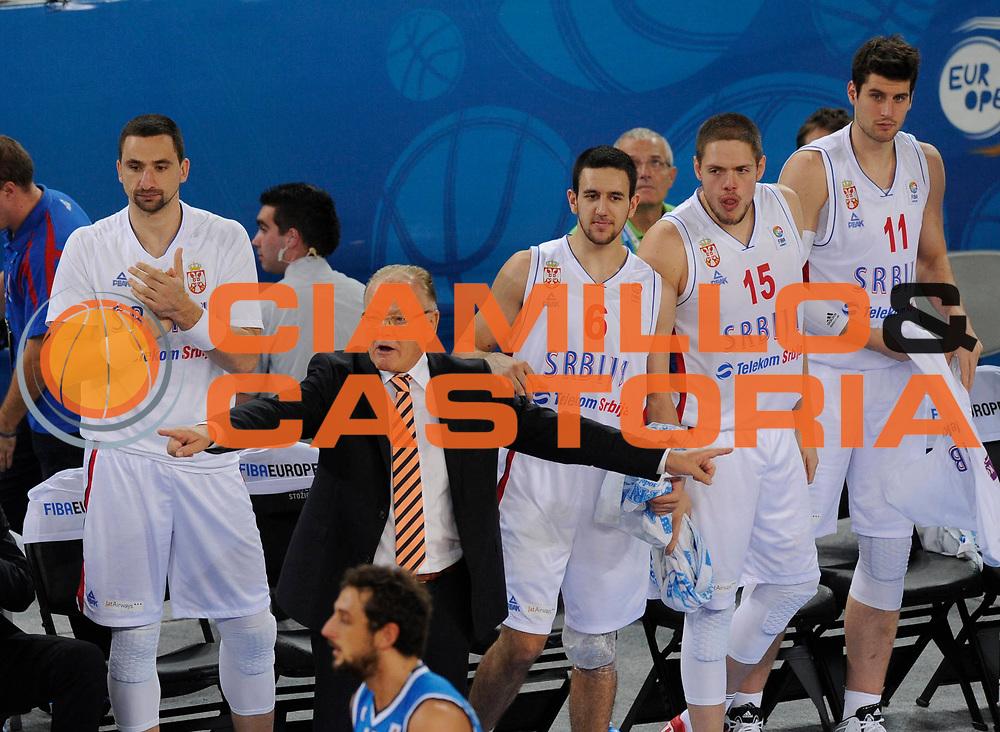 DESCRIZIONE : Lubiana Ljubliana Slovenia Eurobasket Men 2013 Finale Settimo Ottavo Posto Serbia Italia Final for 7th to 8th place Serbia Italy<br /> GIOCATORE : Team Serbia <br /> CATEGORIA : esultanza jubilation<br /> SQUADRA : Serbia Serbia<br /> EVENTO : Eurobasket Men 2013<br /> GARA : Serbia Italia Serbia Italy<br /> DATA : 21/09/2013 <br /> SPORT : Pallacanestro <br /> AUTORE : Agenzia Ciamillo-Castoria/N.Parausic<br /> Galleria : Eurobasket Men 2013<br /> Fotonotizia : Lubiana Ljubliana Slovenia Eurobasket Men 2013 Finale Settimo Ottavo Posto Serbia Italia Final for 7th to 8th place Serbia Italy<br /> Predefinita :
