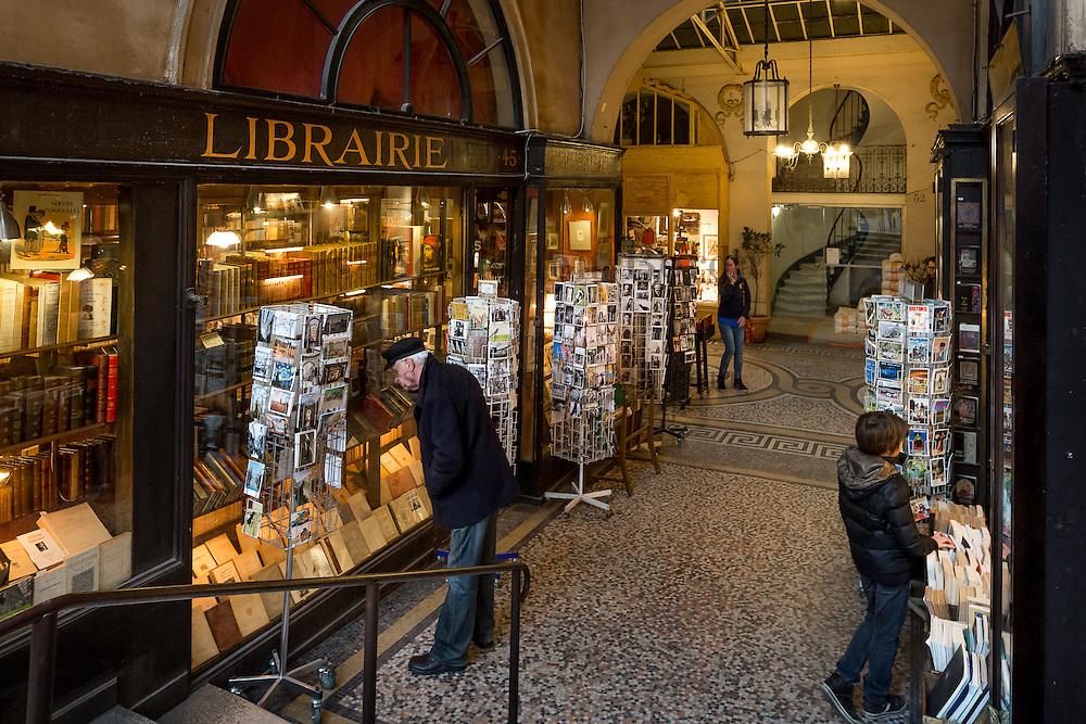 Librairie de la galerie Vivienne // Galerie Vivienne bookshop