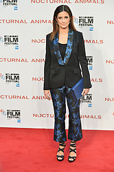 © Licensed to London News Pictures. 14/10/2016.  LIVIA FIRTH attends the Nocturnal Animals film premiere of as part of the London Film Festival. London, UK. Photo credit: Ray Tang/LNP