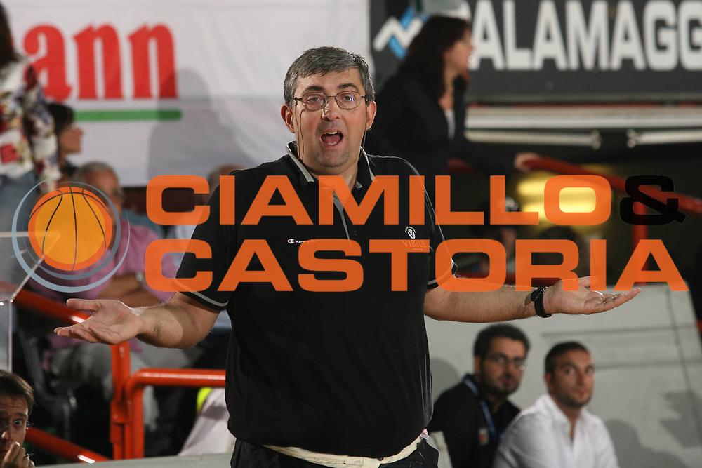 DESCRIZIONE : Caserta Lega A1 2007-08 Torneo Citt&agrave; di Caserta Lottomatica Virtus Roma Virtus Bologna<br /> GIOCATORE : Stefano Pillastrini <br /> SQUADRA : Virtus Bologna<br /> EVENTO : Campionato Lega A1 2007-2008 <br /> GARA : Lottomatica Virtus Roma Virtus Bologna<br /> DATA : 16/09/2007 <br /> CATEGORIA : Ritratto<br /> SPORT : Pallacanestro <br /> AUTORE : Agenzia Ciamillo-Castoria/M.Marchi