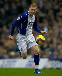 BIRMINGHAM, ENGLAND - Saturday, January 19, 2008: Birmingham City's Garry O'Connor in action against Chelsea during the Premiership match at St Andrews. (Photo by David Rawcliffe/Propaganda)
