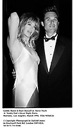 Goldie Hawn & Kurt Russell at  Steve Tisch &  Vanity Fair's Oscar Night Party,<br />Mortons,  Los Angeles. March 1994.  Film 94560/24<br /> <br />© Copyright Photograph by Dafydd Jones<br />66 Stockwell Park Rd. London SW9 0DA<br />Tel 0171 733 0108.