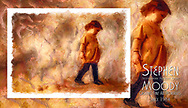 Contemporary Children's Fine Art Portraits by Scottsdale Portrait Artist Stephen Moody - Commissioned Mixed Media Portraiture created on locatoin or in studio. Original artwork created for the interior of your home.