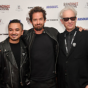 David Martiner, Will Kemp and Elliot Grove attends Raindance Film Festival Gay Times Gala screening - George Michael: Freedom (The Director's Cut) London, UK. 4th October 2018.