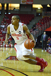 30 January 2011: Trey Blue during an NCAA basketball game between the Drake Bulldogs and the Illinois State Redbirds. The Redbirds win in OT 77-75 after a last three point shot by Drake was ruled too late at Redbird Arena in Normal Illinois.