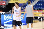 DESCRIZIONE: Berlino EuroBasket 2015 - Allenamento<br /> GIOCATORE:Amedeo Della Valle<br /> CATEGORIA: Allenamento<br /> SQUADRA: Italia Italy<br /> EVENTO:  EuroBasket 2015 <br /> GARA: Berlino EuroBasket 2015 - Allenamento<br /> DATA: 08-09-2015<br /> SPORT: Pallacanestro<br /> AUTORE: Agenzia Ciamillo-Castoria/I.Mancini<br /> GALLERIA: FIP Nazionali 2015<br /> FOTONOTIZIA: Berlino EuroBasket 2015 - Allenamento