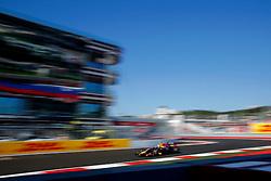10.10.2014, Sochi Autodrom, Sotschi, RUS, FIA, Formel 1, Grosser Preis von Russland, Training, im Bild Daniil Kvyat (RUS) Scuderia Toro Rosso STR8. // during the Practice of the FIA Formula 1 Russia Grand Prix at the Sochi Autodrom in Sotschi, Russia on 2014/10/10. EXPA Pictures © 2014, PhotoCredit: EXPA/ Sutton Images/ Martini<br /> <br /> *****ATTENTION - for AUT, SLO, CRO, SRB, BIH, MAZ only*****