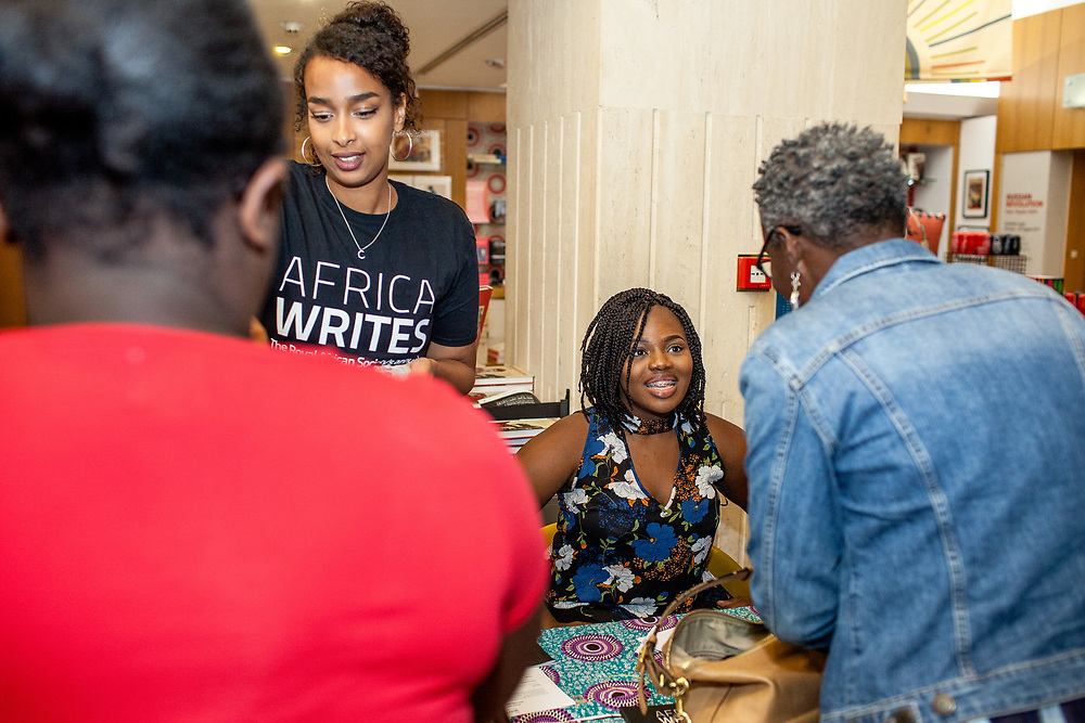 The Africa Writes festival is an annual celebration of contemporary literature from Africa and the diaspora brought to you by The Royal African Society. Every year we showcase established and emerging talent from the African continent and its diaspora in what is now the UK's biggest celebration of contemporary African writing taking place over an exciting summer weekend. The festival features book launches, readings, author appearances, panel discussions, youth and children's workshops, and other activities. (Photos/Ivan Gonzalez)