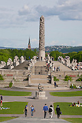 Vigeland Sculpture Park, Oslo, Norway.
