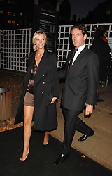 MALIN JOHNANSSON and TIM JEFFERIES at the Berkeley Square End of Summer Ball in aid of the Prince's Trust held in Berkeley Square, London on 27th September 2007.<br />