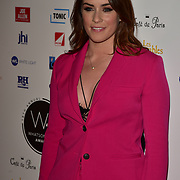 Lucie Shorthouse Arriver at the 18th Annual WhatsOnStage Awards 2018 at Prince of Wales Theatre on 25 Feb 2018, London, UK