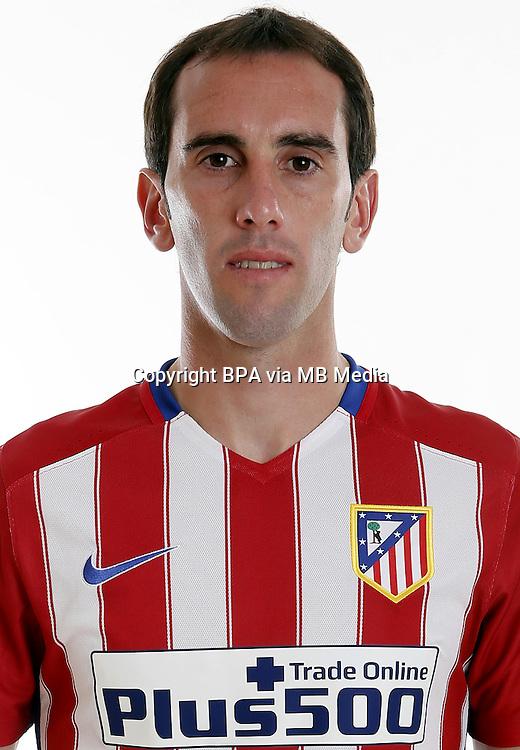 Spain - Liga BBVA 2015-2016 / <br /> ( Atletico de Madrid ) - <br /> Diego Roberto Godin Leal