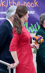 NORWICH- UK - 25-NOV-014: Britain's HRH The Duchess of Cambridge, Patron, attends the East Anglia&rsquo;s Children's Hospices (EACH) Norfolk Capital Appeal launch at the Norfolk Showground in Norwich. Her Royal Highness met families, volunteers and supporters of the hospice, before joining the local community in watching the launch of the appeal. <br /> Photograph by Ian Jones