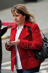 © Licensed to London News Pictures. 26/06/2013. London, UK. SUSAN DAVIES, arriving at the Old Bailey where she is on trial, she denies 14 counts of aiding and abetting rape, indecent assault and child cruelty.. Photo credit : Mark Hemsworth/LNP