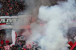 21-01-2018 NED: AFC Ajax - Feyenoord, Amsterdam<br /> Ajax was met 2-0 te sterk voor Feyenoord / Ajax support publiek sfeer