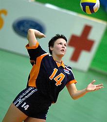 18-06-2000 JAP: OKT Volleybal 2000, Tokyo<br /> Nederland - China 3-0 / Riette Fledderus