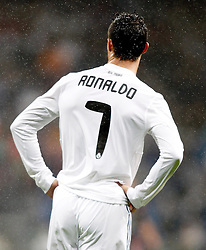03.10.2010, Estadio Santiago Bernabeu, Madrid, ESP, Primera Divison, Real Madrid vs Deportivo de La Coruna, im Bild Real Madrid's Cristiano Ronaldo dejected, EXPA Pictures © 2010, PhotoCredit: EXPA/ Alterphotos/ Alvaro Hernandez