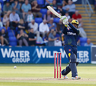 Glamorgan's Usman Khawaja <br /> <br /> Photographer Simon King/Replay Images<br /> <br /> Vitality Blast T20 - Round 8 - Glamorgan v Gloucestershire - Friday 3rd August 2018 - Sophia Gardens - Cardiff<br /> <br /> World Copyright &copy; Replay Images . All rights reserved. info@replayimages.co.uk - http://replayimages.co.uk