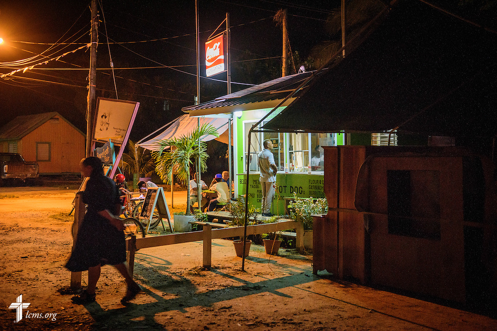 Nightlife on Wednesday, Sept. 28, 2016, in Placencia, Belize. LCMS Communications/Erik M. Lunsford