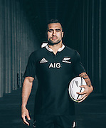 Portrait of New Zealand All Blacks player Liam Messam at the historic Soldier Field in Chicago.