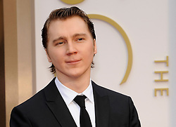 Paul Dano arriving to the 2014 Oscars at the Hollywood and Highland Center in Hollywood, California, USA,  Sunday, 2nd March 2014. Picture by Hollywood Bubbles / i-Images<br /> UK ONLY