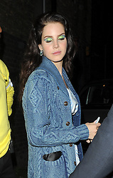 Lana Del Rey, leaving Hammersmith Apollo in London. UK. 20/05/2013<br />