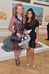Left to right, ERIN MORRIS and BIP LING at the annual Royal Academy of Art Summer Party held at Burlington House, Piccadilly, London on 4th June 2014.