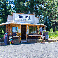 Blue Mountain Outpost in the Blue Mountains, Oregon