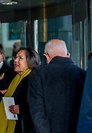 AMSTERDAM - Gerdi Verbeet Herdenkingsbijeenkomst in het Concertgebouw voor de overleden oud-premier Wim Kok.